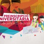 Preinscripció i matrícula universitària 2016: informació general, dates i terminis.